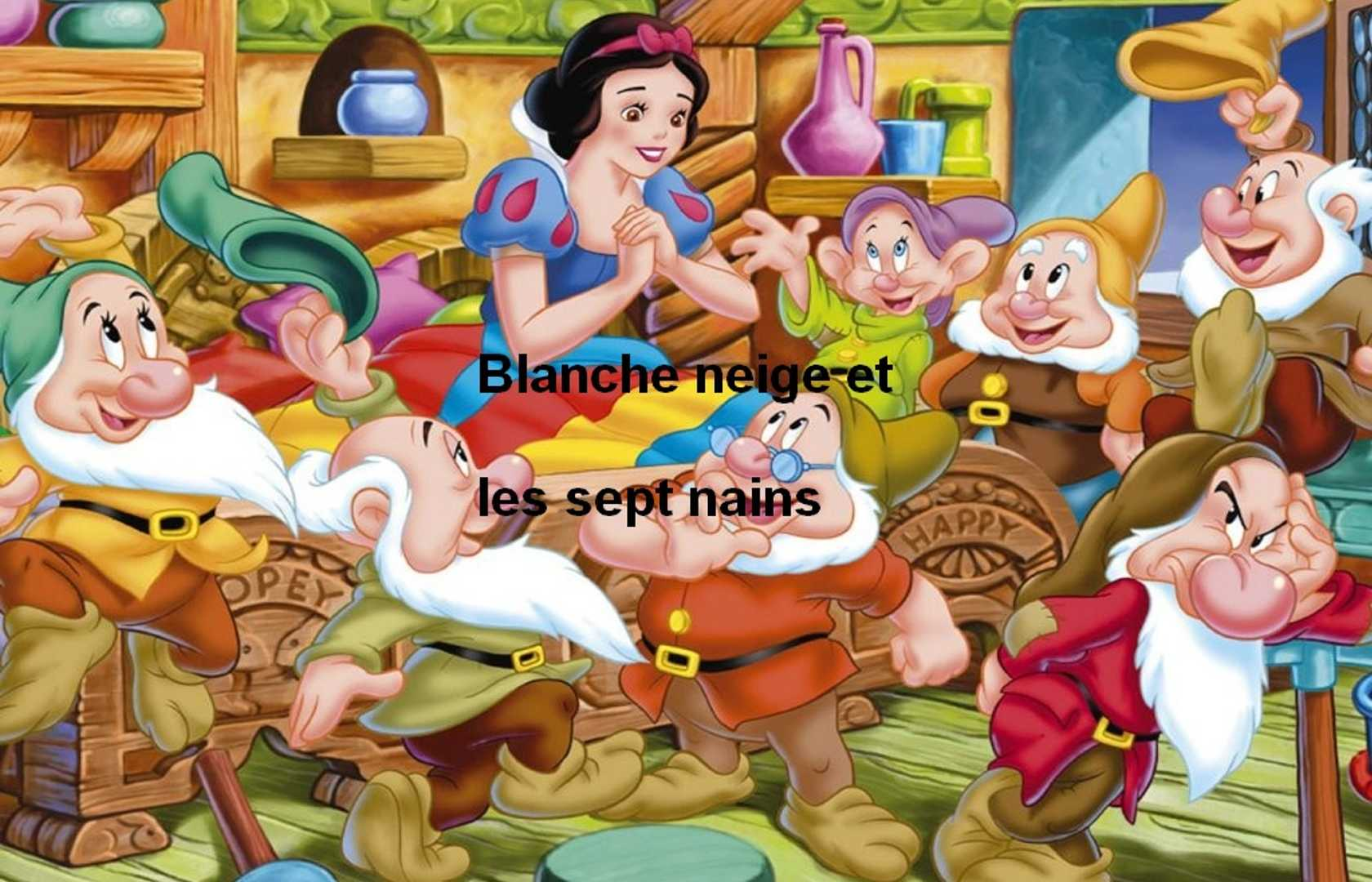 Blanche Neige Et Les Sept Nains Pearltrees