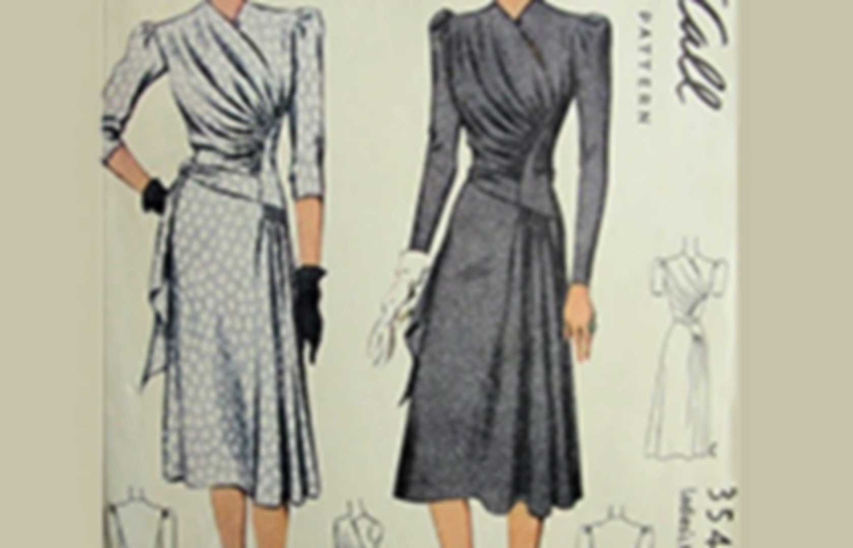 Vintage/Historical Sewing Patterns   Pearltrees