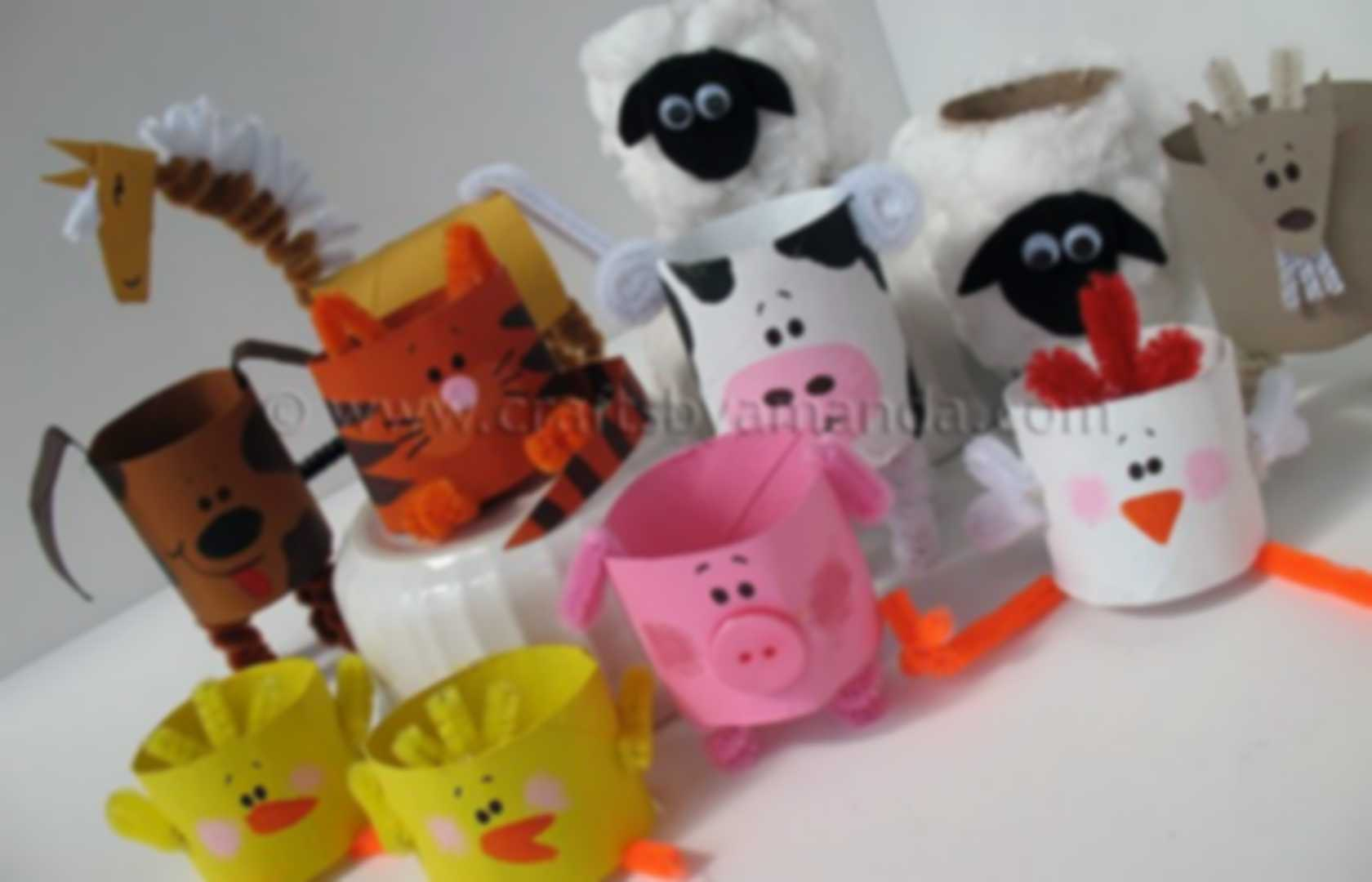 Pibterest Cast Ideas For Kids: Manualidades Animales