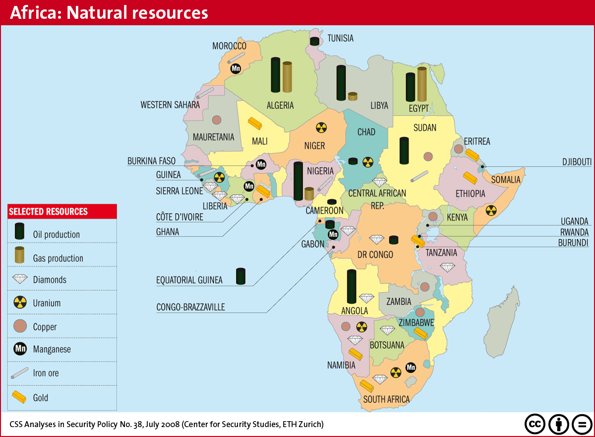 What Natural Resources Are Found In South Africa