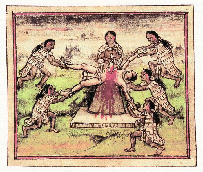 Human sacrifice in Aztec culture