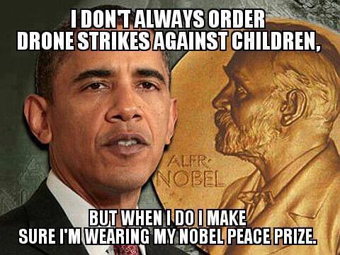 Barack Drone Bomber Obama