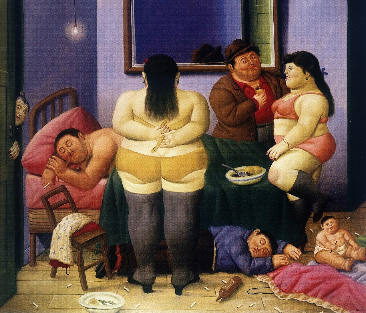 Images Of Fat Lady Paintings