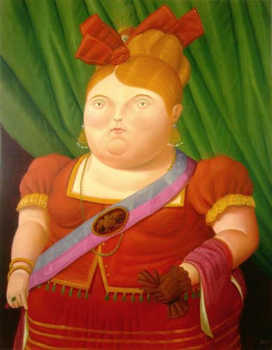 Botero la femme du pr sident pearltrees for El jardin de botero