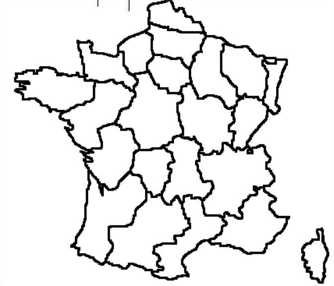 Carte des régions de France | Pearltrees