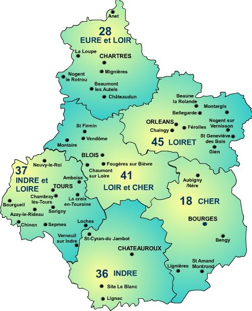 region-centre