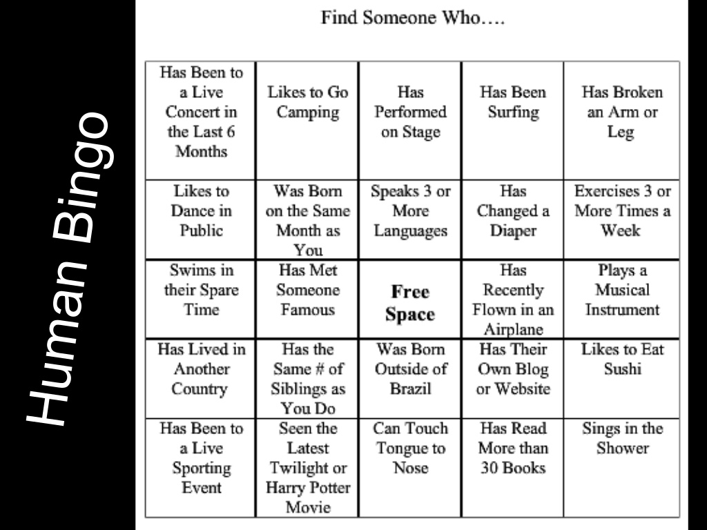 Bingo games for adults excellent porn free porn for Ice breaker bingo template
