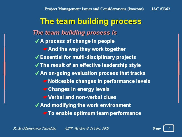 an analysis of the nature of the teambuilding process Data modeling for system analysis by: data modeling process starts with requirement gatherings it visually represents the nature of data.