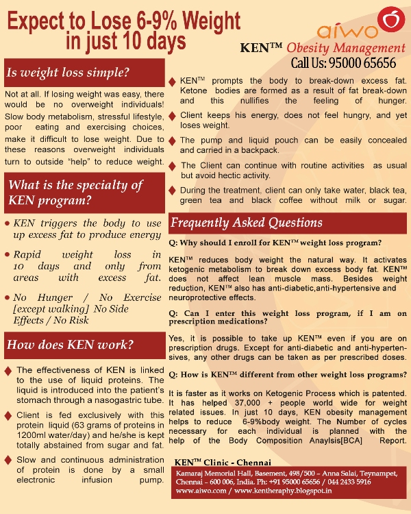 Ketogenic Enteral Nutrition (KEN