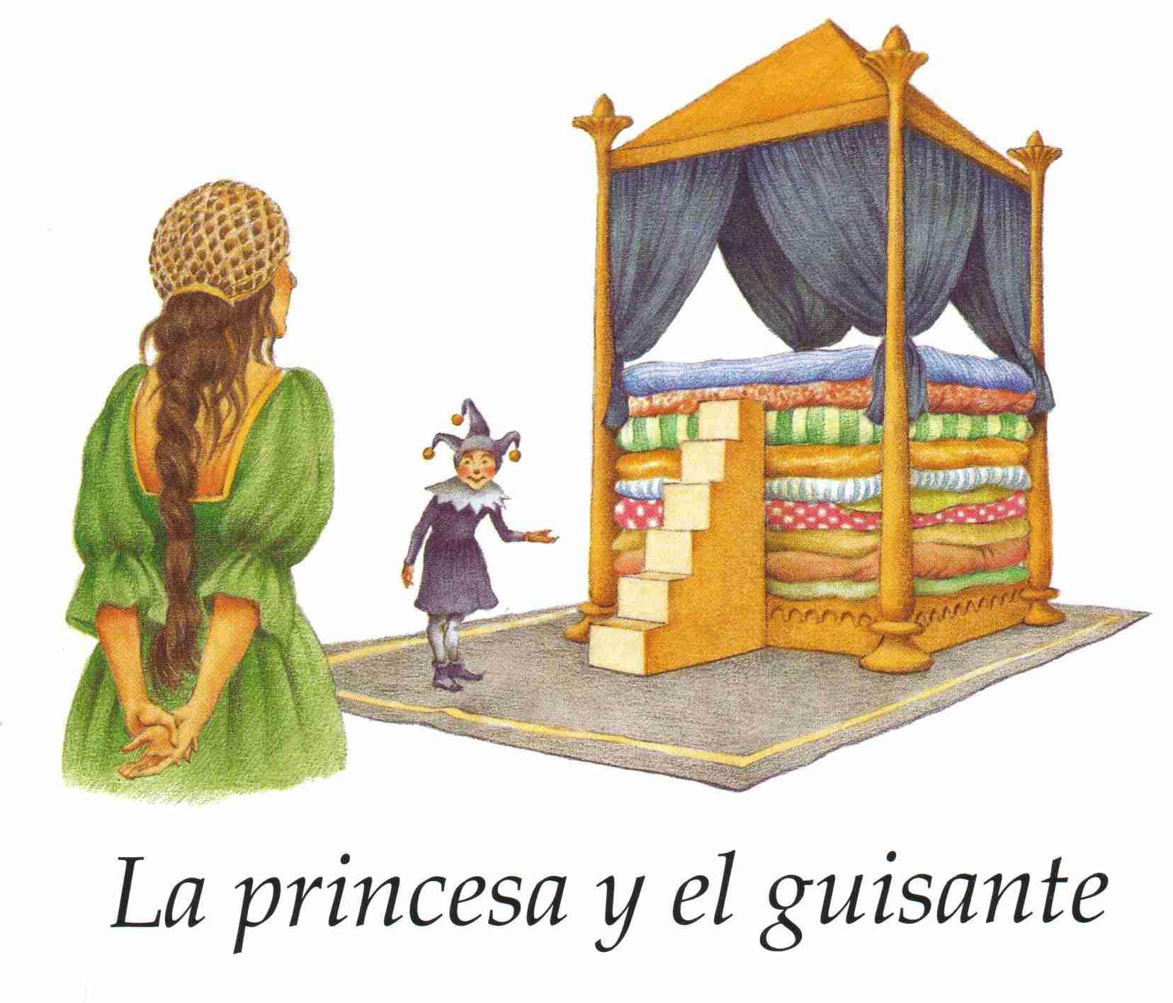 Resultado de imagen para la princesa y el guisante