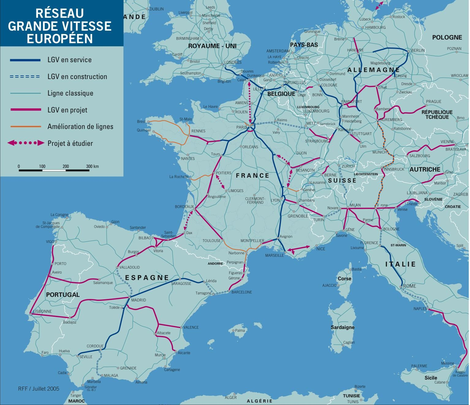 Lgv Europe Carte | tonaartsenfotografie