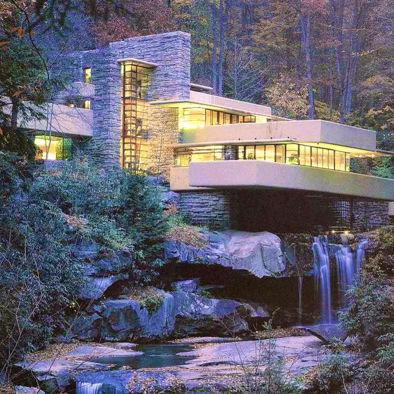 la maison sur la cascade lfw pearltrees ForMaison Cascade