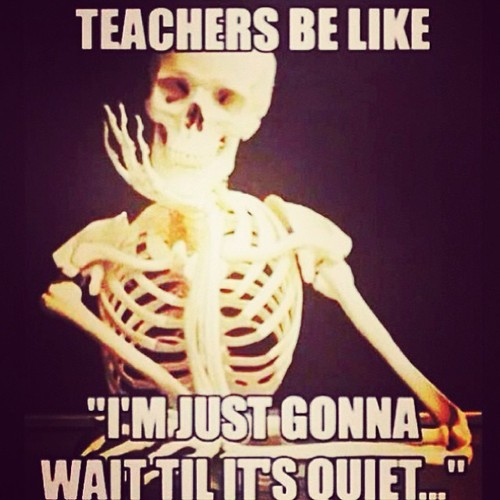 Most teachers wait but not for that long | Pearltrees
