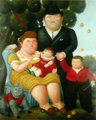 Fernando botero una familia