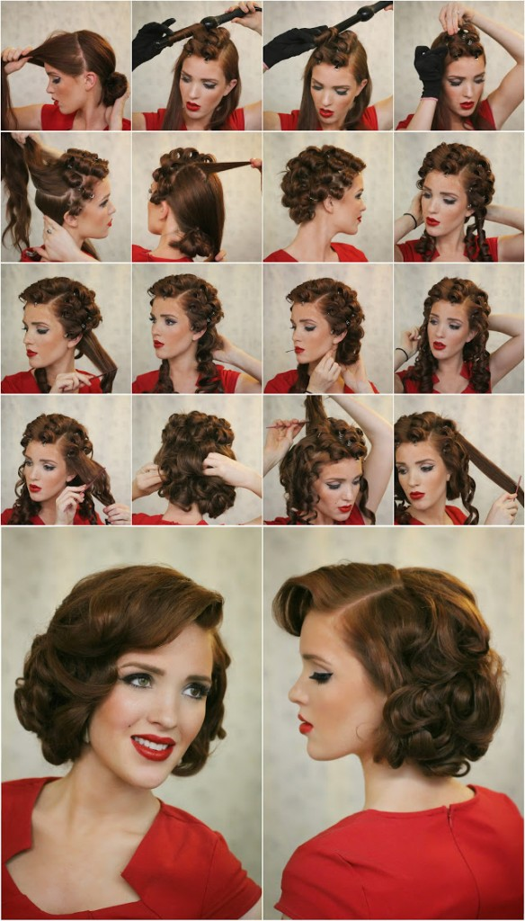 Upright Pin Curls Pearltrees
