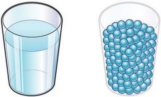 Vaso de agua y su cohesi n entre moleculas pearltrees for Modelo solido con guijarros