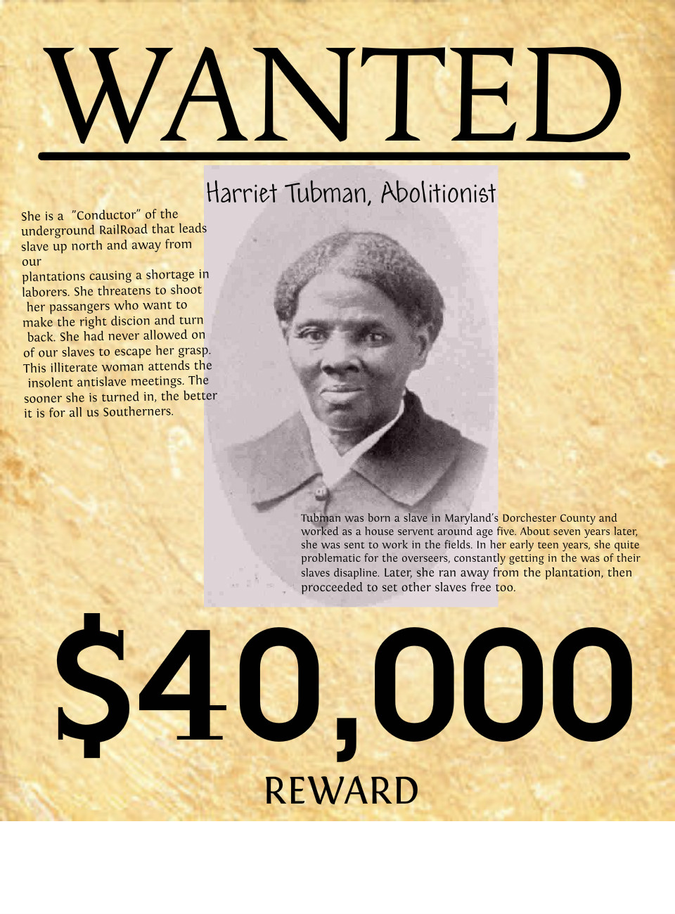 wanted-poster- | Pearltrees