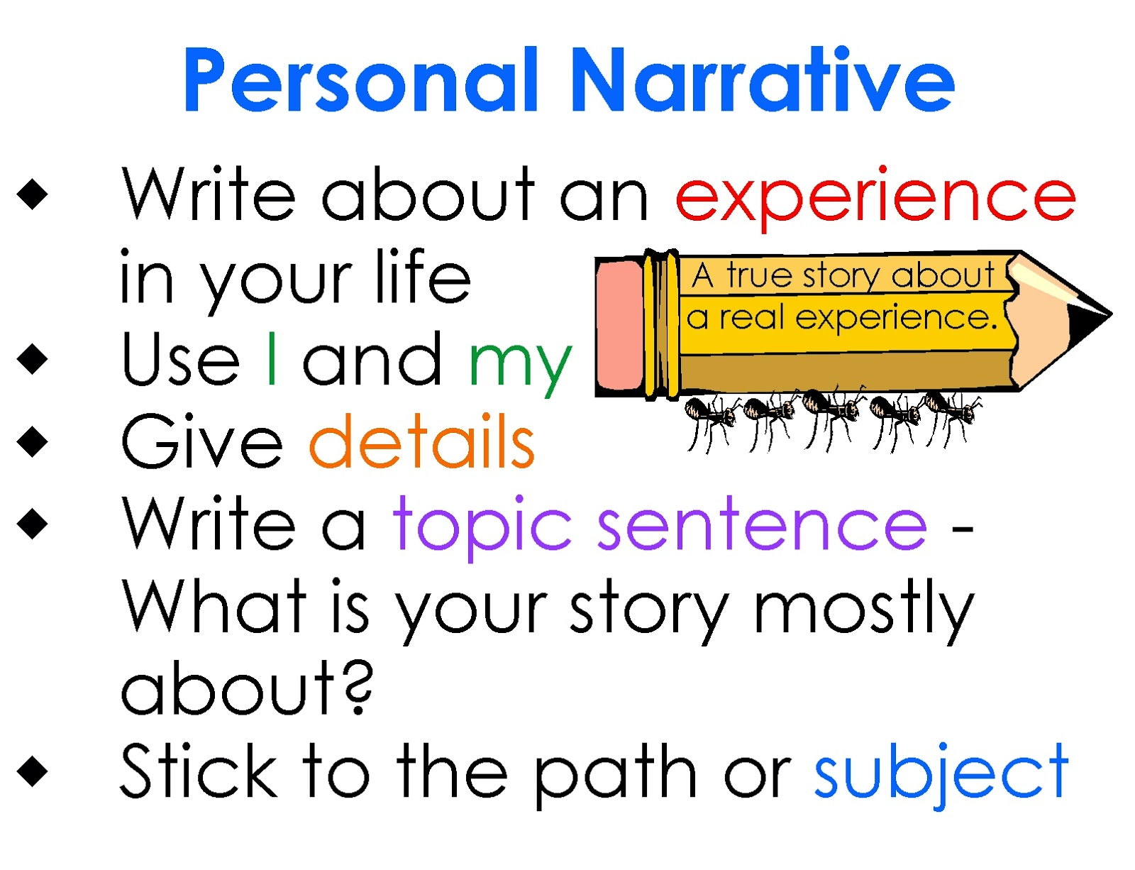 write good personal essay