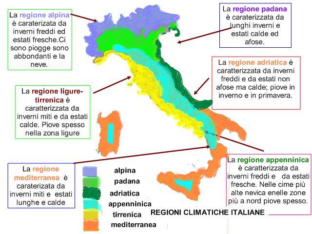 Cartina Dellitalia Con Zone Climatiche.Le Zone Climatiche In Italia Lessons Tes Teach