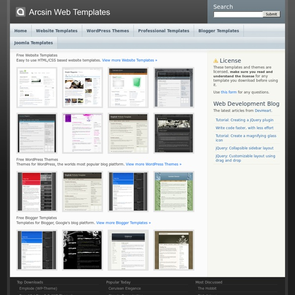 Templates Blogger Templates Joomla Templates Free Website Templates X5Rezk0V
