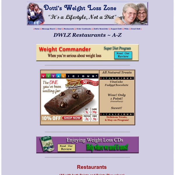 Dotties weight loss zone recipes jamie