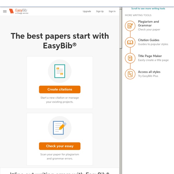 online annotated bibliography maker