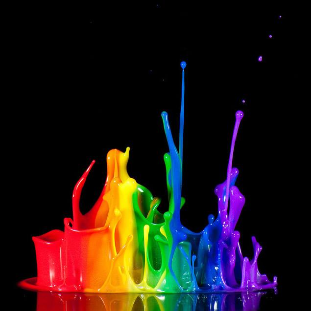 Risultato immagini per esplosione di colori
