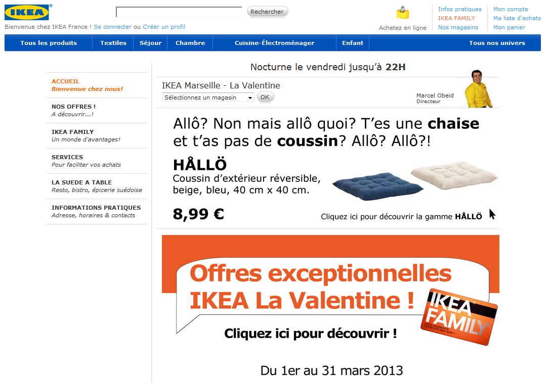 Ikea : T'es une chaise et t'as pas de coussin ? | Pearltrees
